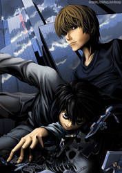 Death Note Print by K-6