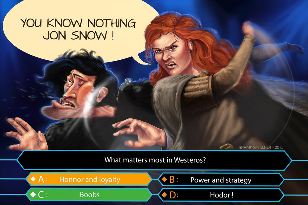 You Know Nothing Jon Snow By Toniet1234