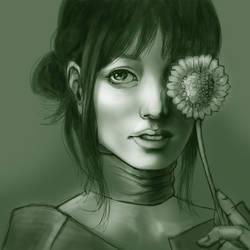 An Eye For A Flower