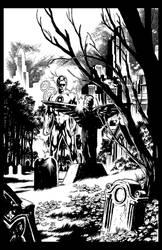 Ivan Reis Blackest Night by GothPunkDaddy
