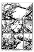 David Finch Ultimate X-Men by GothPunkDaddy