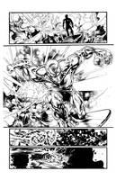Silver Surfer Issue 1 Page 1 by GothPunkDaddy