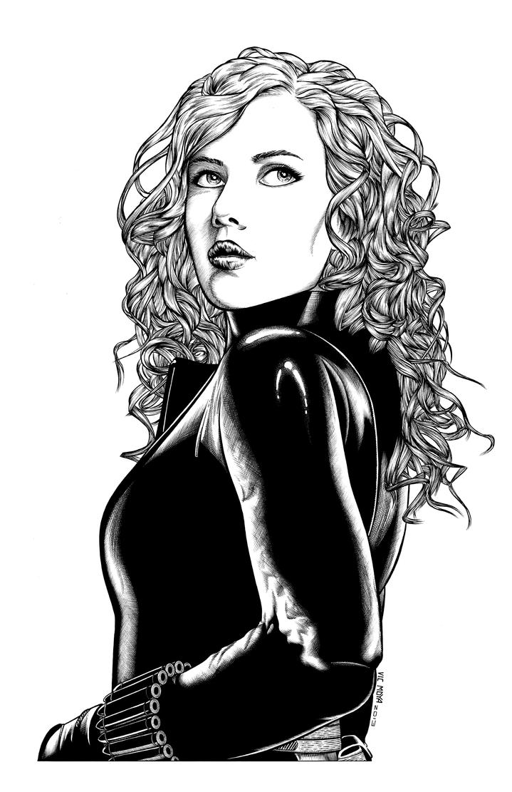 Black Widow by GothPunkDaddy on DeviantArt