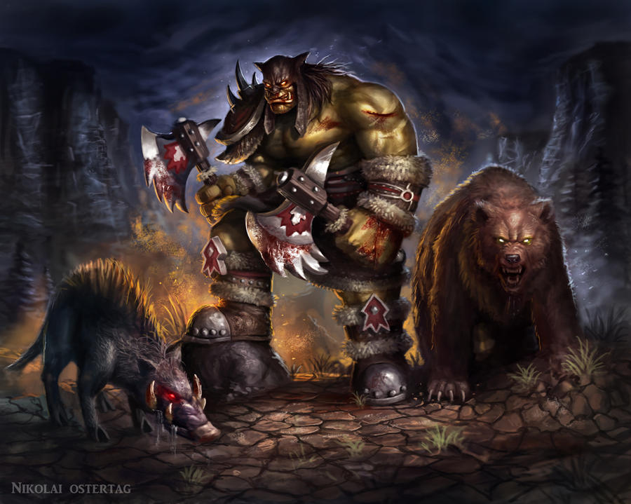 Rexxar by NikolaiOstertag