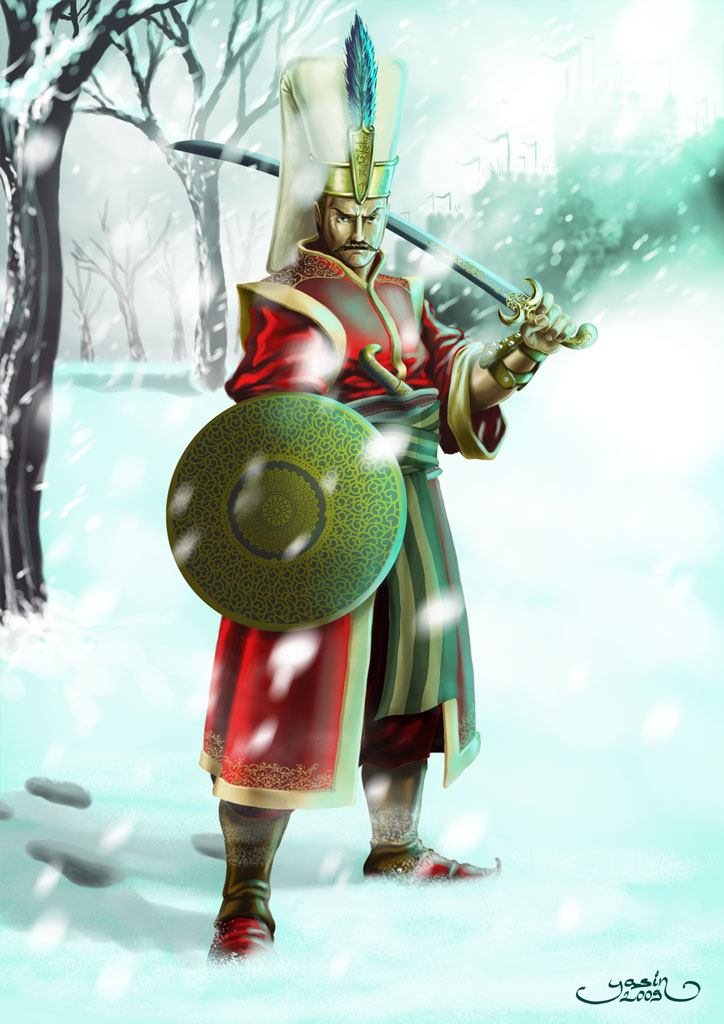 Yeniceri-Janissary by yasinyayli