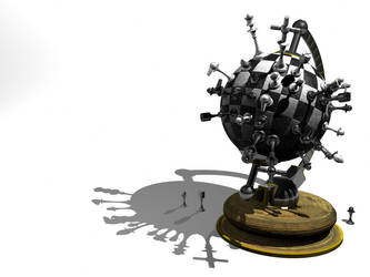 Chess Globe by evilhomer145