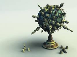 Chess Globe v3 by evilhomer145