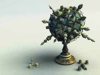 Chess Globe v3 by evilhomer145