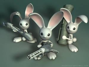 Armed Bunnies