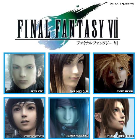 Final Fantasy VII by lovelyashley