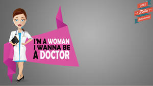Woman Doctor Vector
