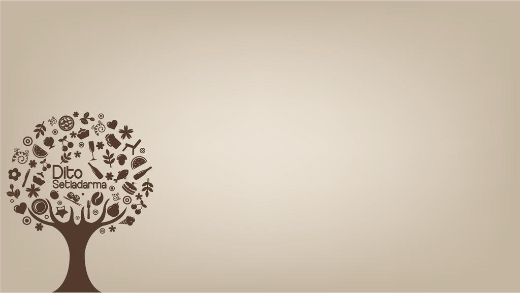Simple Vector : Foods tree