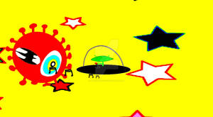 UFO Space Attack by PresidentOso