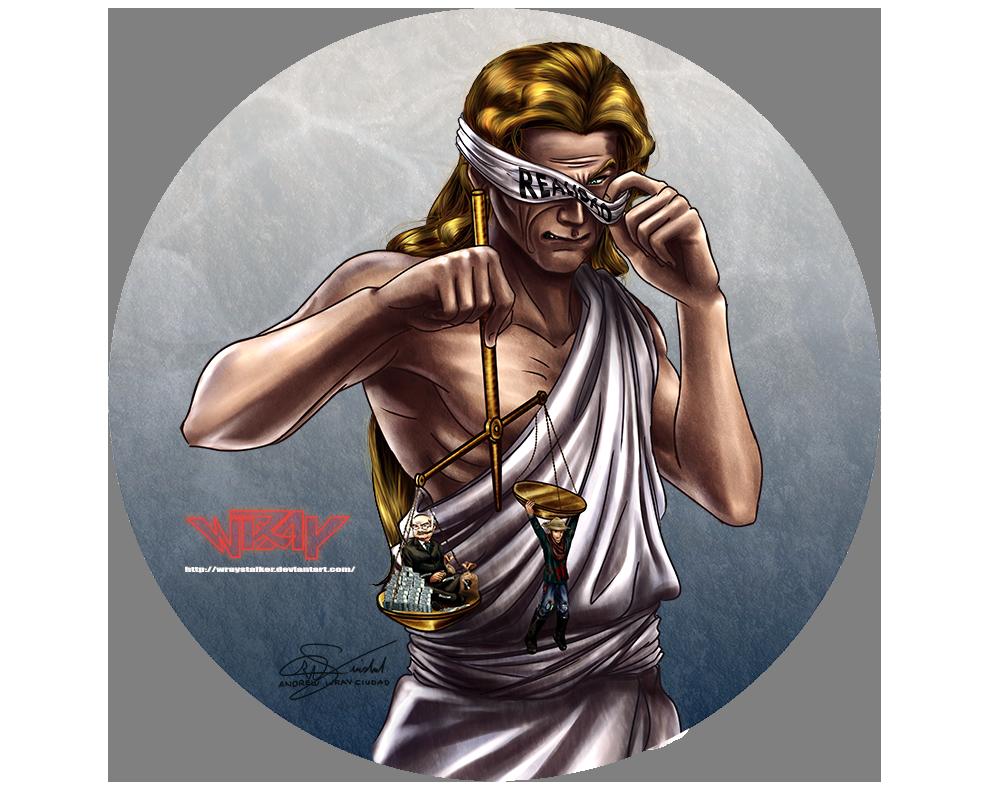 Blind Justice by wraystalker