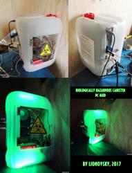 Biologically hazardous canister, Custom PC case