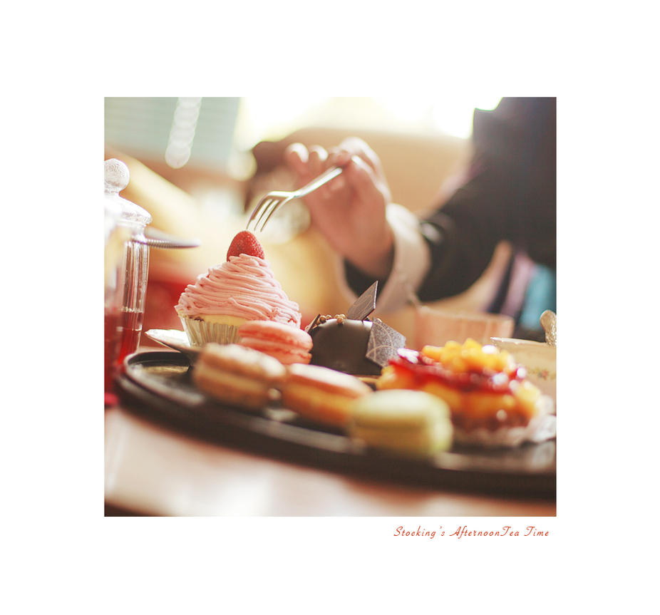 afternoon tea time by BunnyTuan
