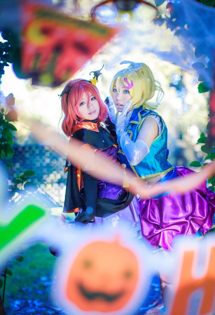 Lovelive Halloween by BunnyTuan