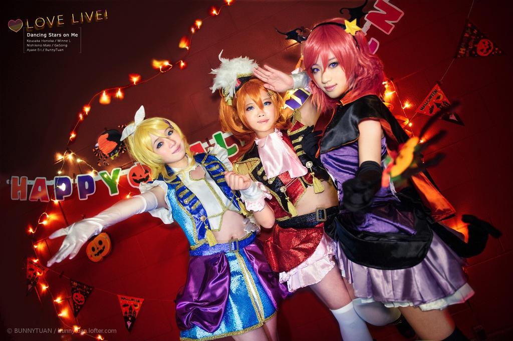 lovelive Dancing Stars on Me by BunnyTuan