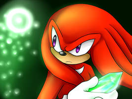 Knuckles the Echidna by SRtheGamer