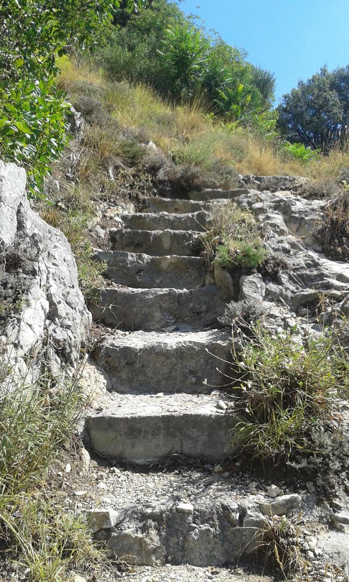 Stone Path 1 by nostalgic-stock