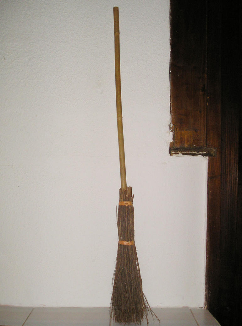 Witch Broom by nostalgic-stock