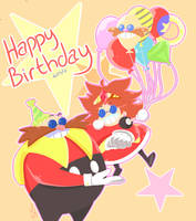 Happy Birthday Robotnik by SausageSquidu