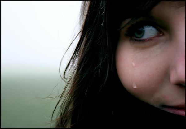 Tear of joy? by S4wdust