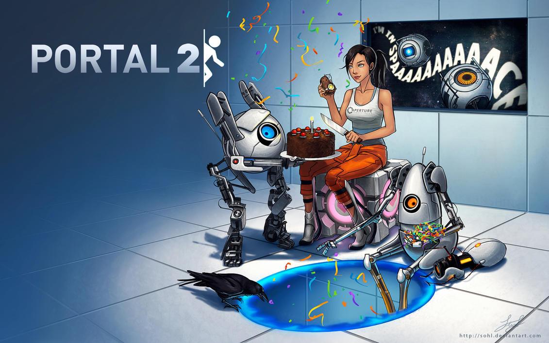 Portal 2 Wallpaper
