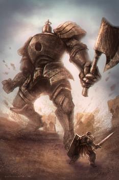 Iron Golem Vs Tarkus