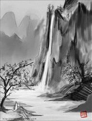 muromachi landscape by sohlol
