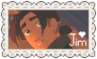 Jim Hawkins Love Stamp by StampMakerLKJ