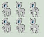 Pixel Pony Adopt Sheet Base F2U