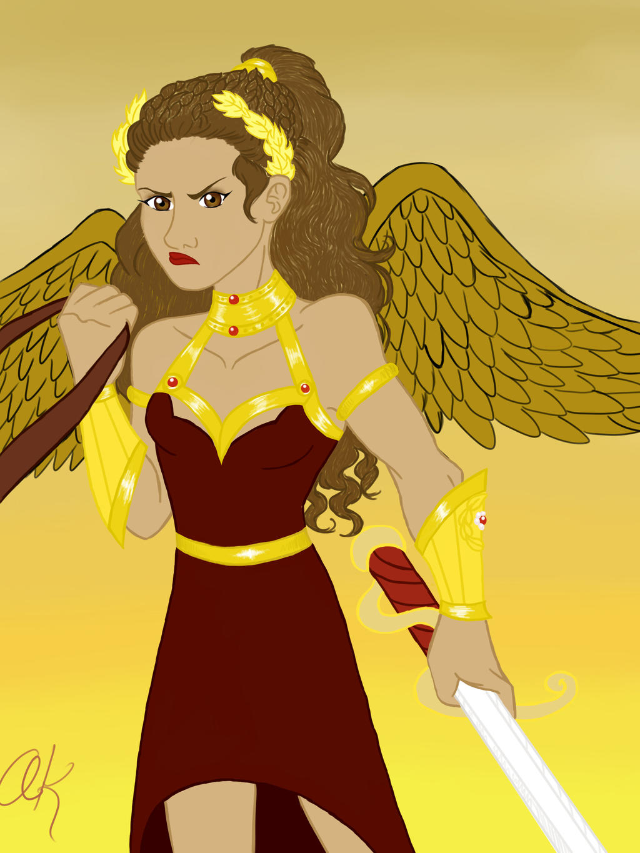 Nike, Goddess of Victory by TriGod-AlliKat on DeviantArt