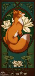 Lotus Fox by NaLa-aka-Umka