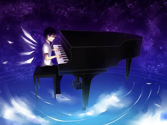 The piano by ciceon