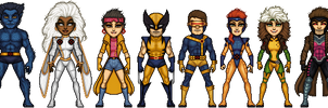 X-Men of the 90's by ThatsSoHaydn