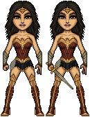 Gal Gadot as Wonder Woman by haydnc95