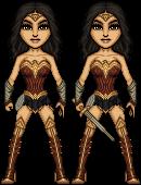 Gal Gadot as Wonder Woman by haydnc95