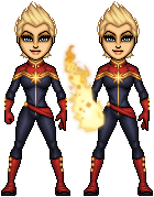 Carol Danvers - Captain Marvel by haydnc95
