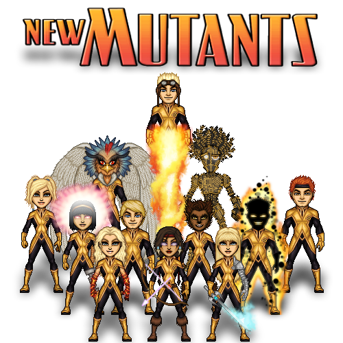 New Mutants by haydnc95