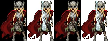 New Female Thor by haydnc95