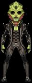 Mass Effect 3: Thane Krios by haydnc95