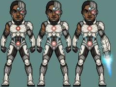 Victor Stone - Cyborg by ThatsSoHaydn