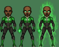 John Stewart - Green Lantern by ThatsSoHaydn