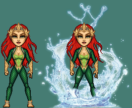 Mera of Xebel - Mera by ThatsSoHaydn