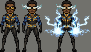 Jefferson Pierce - Black Lightning by ThatsSoHaydn