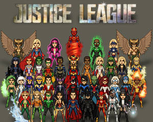 Justice League/DC Heroes