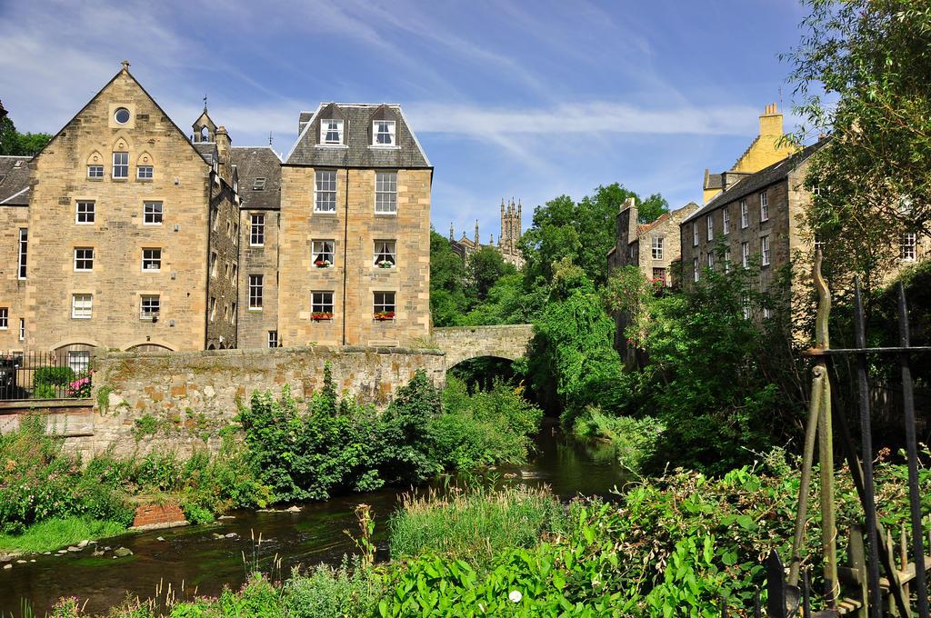beautiful Dean Village, Edinburgh by artismagica