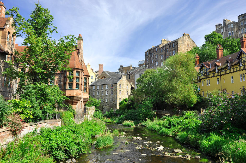 Edinburgh, Dean Village by artismagica