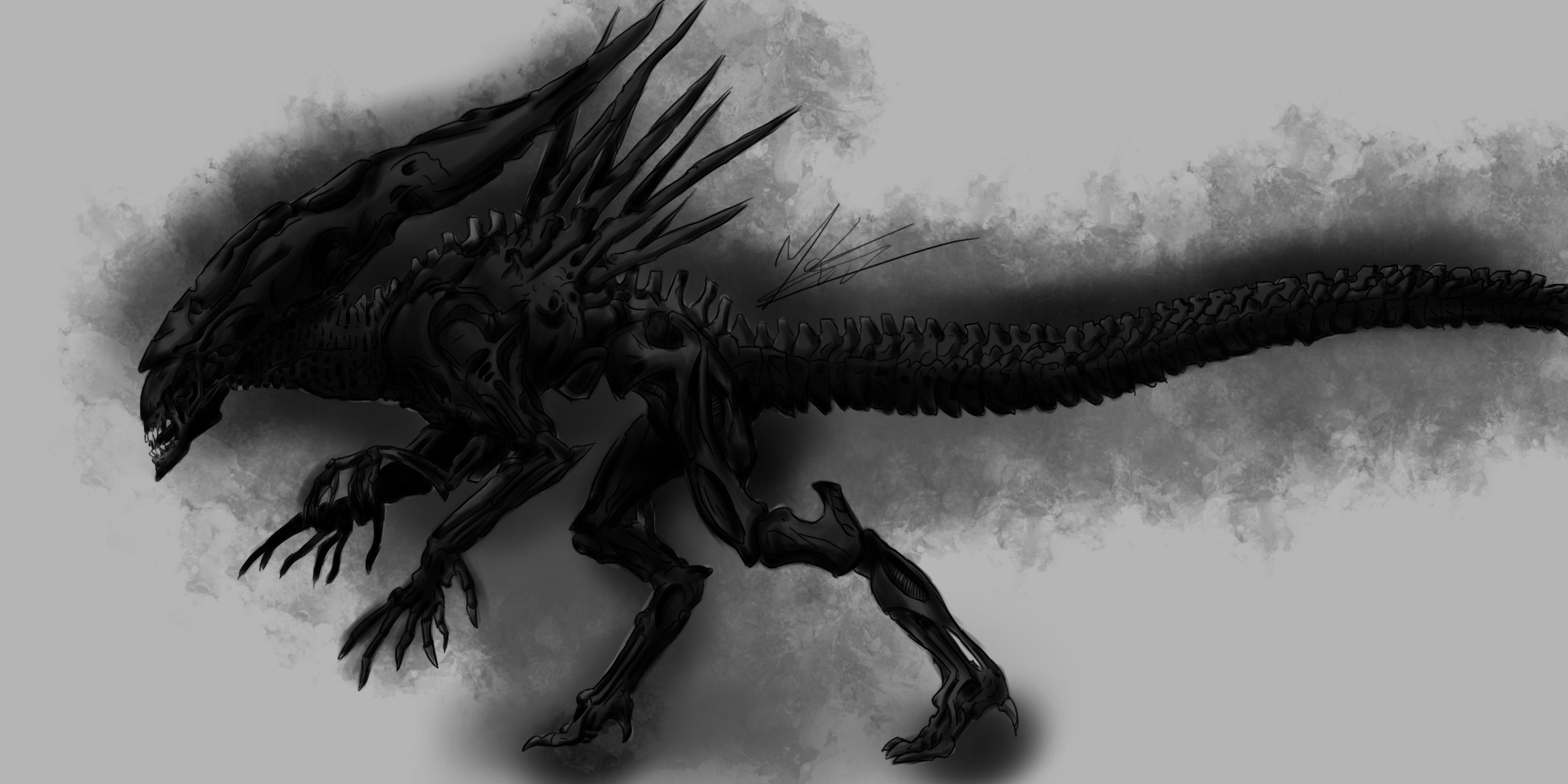 Xenomorph Queen By Masterpred On Deviantart